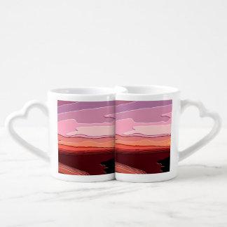 SUNSETS COUPLES COFFEE MUG
