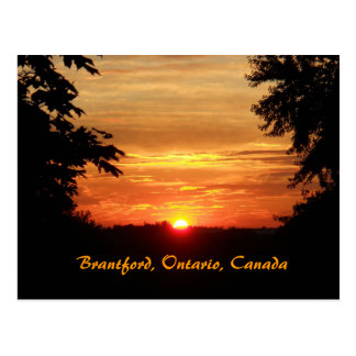 Sunsets in Ontario Postcard