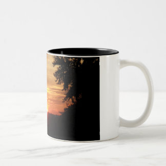 Sunsets in Ontario Two-Tone Coffee Mug