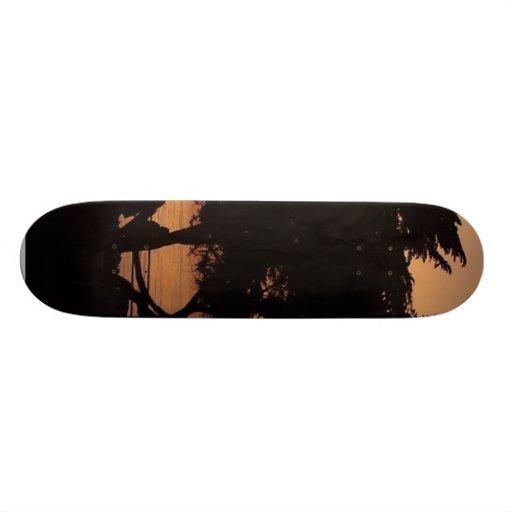 Sunsets La Jolla Custom Skateboard
