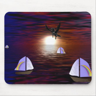 Sunsets Love Mouse Pads