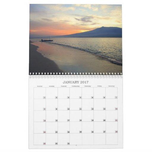 Sunsets of Southeast Asia 2012 Calendar