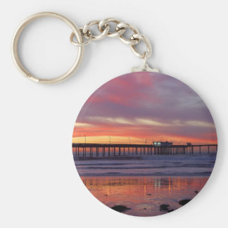 Sunsets Piers Cafes Keychains