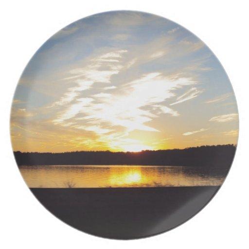 Sunsets Plates