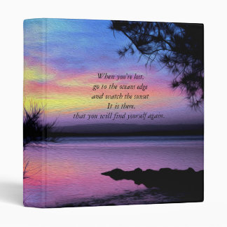 Sunsets Without You Binder