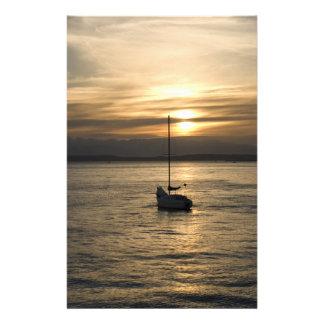 SunsetSailboat051709 Stationery Design