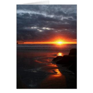 Sunsetting.... Card