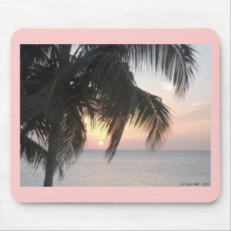 Sunsetting Doctor's Cave, Montego Bay, Jamaica Mouse Pad