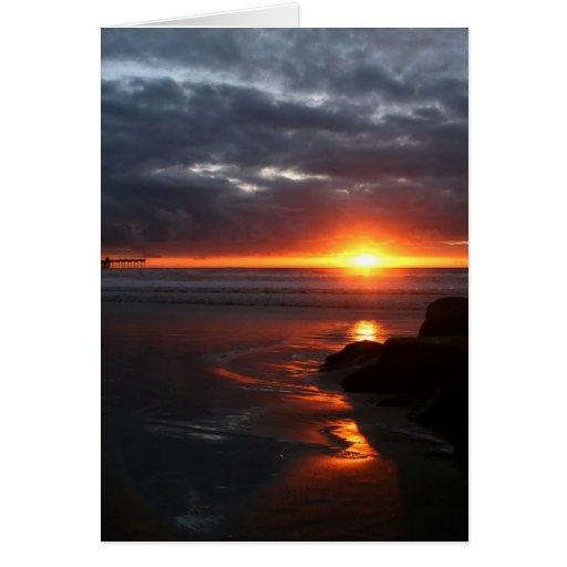 Sunsetting.... Greeting Card
