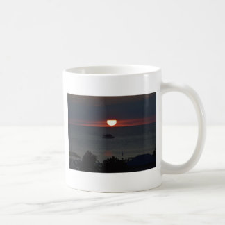 Sunsetting over Lake Michigan Coffee Mug