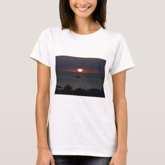 Sunsetting over Lake Michigan T-Shirt
