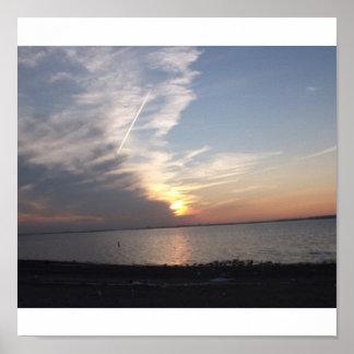 Sunsetting Photo Print