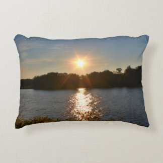 Sunsetting Scenery Accent Pillow
