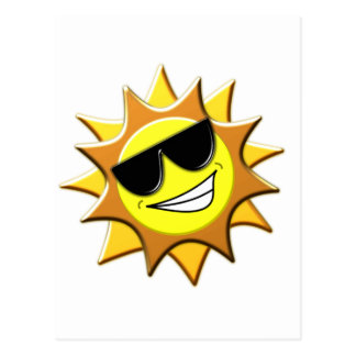 Sunshades Postcard