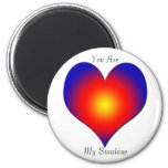 Sunshile of My Life Refrigerator Magnet