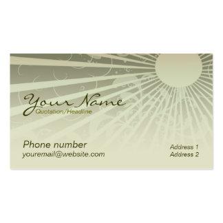 Sunshina Business Card