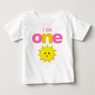 Sunshine 1st Birthday T-shirt Toddler Baby Kid