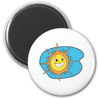Sunshine 2 Inch Round Magnet