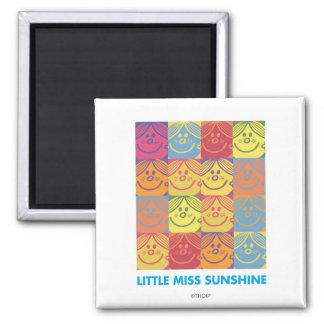 Sunshine 2 Inch Square Magnet