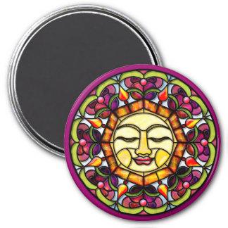 Sunshine 3 Inch Round Magnet