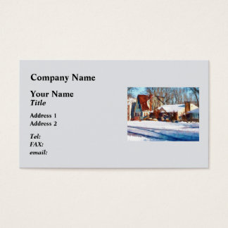 Sunshine After the Snow Business Card