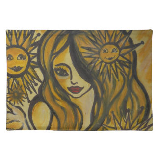 """Sunshine""American MoJo Placemats"