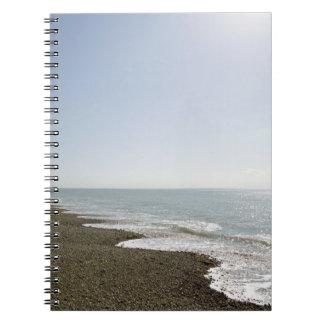 Sunshine and beach spiral notebook
