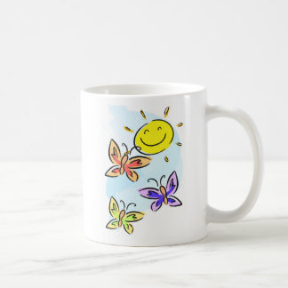 Sunshine and Butterflies Coffee Mug