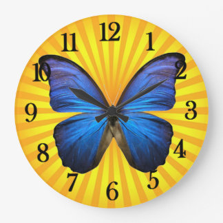 Sunshine and Butterfly Wallclock