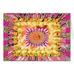Sunshine and Chakra Collage- Artistic Presentation Greeting Card