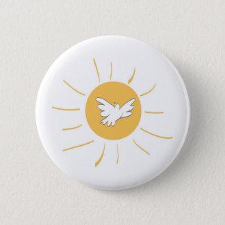 Sunshine and Dove Button
