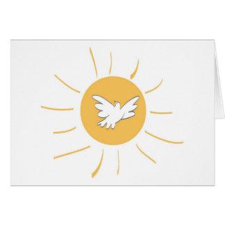 Sunshine and Dove Card