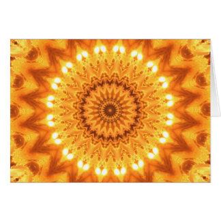 Sunshine and Happiness Mandala Card