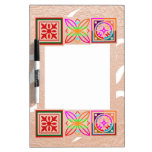 SUNSHINE and Jewels on Golden Embossed Foil Dry-Erase Whiteboards