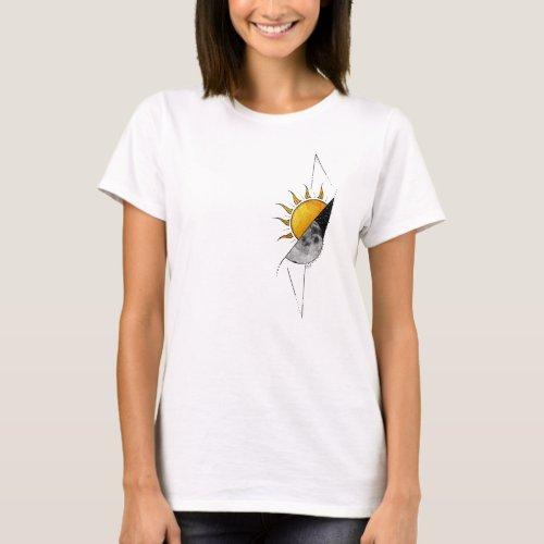 Sunshine and Moon T_Shirt