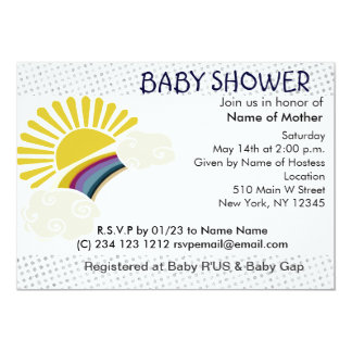 Sunshine and Rainbow Card