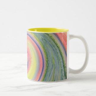 Sunshine and Rainbow twirl Coffee Mug