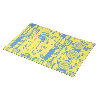 Sunshine and Sky Cloth Placemat
