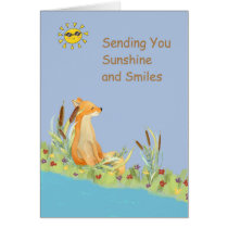 Sunshine and Smiles Get Well Card for Kids