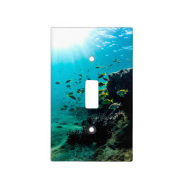 Sunshine and Tropical Fish Light Switch Cover