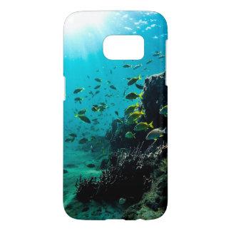 Sunshine and Tropical Fish Samsung Galaxy S7 Case