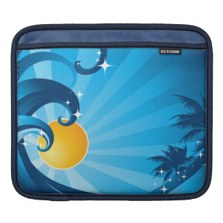 Sunshine and Waves Sleeves For iPads