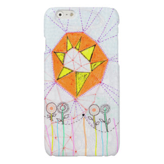 Sunshine - Art By Alia iPhone 6 Glossy Finish Case Glossy iPhone 6 Case