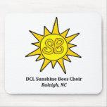 Sunshine Bees: Children's Choir Mouse Pad