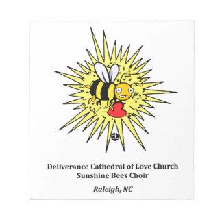 Sunshine Bees: Children's Choir Notepad