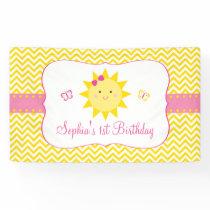 Sunshine Birthday Banner