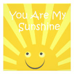 Sunshine Birthday Party Personalized Invitation