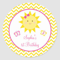 Sunshine Birthday Stickers You Are My Sunshine