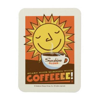 Sunshine Blend Coffee Magnet