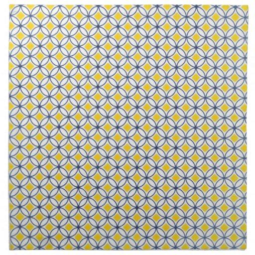 Sunshine & Blue Delft Cloth Napkins